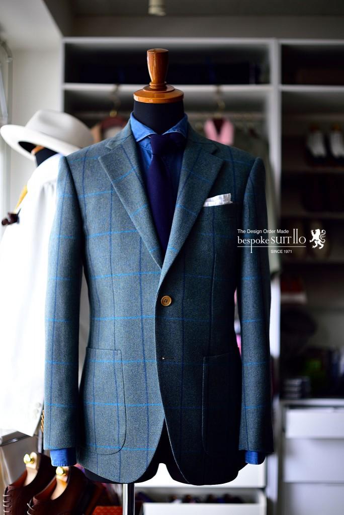カントリージャケット 福岡 八幡西区 I様| Bespoke Suit110 福岡県北九州のオーダーメイド