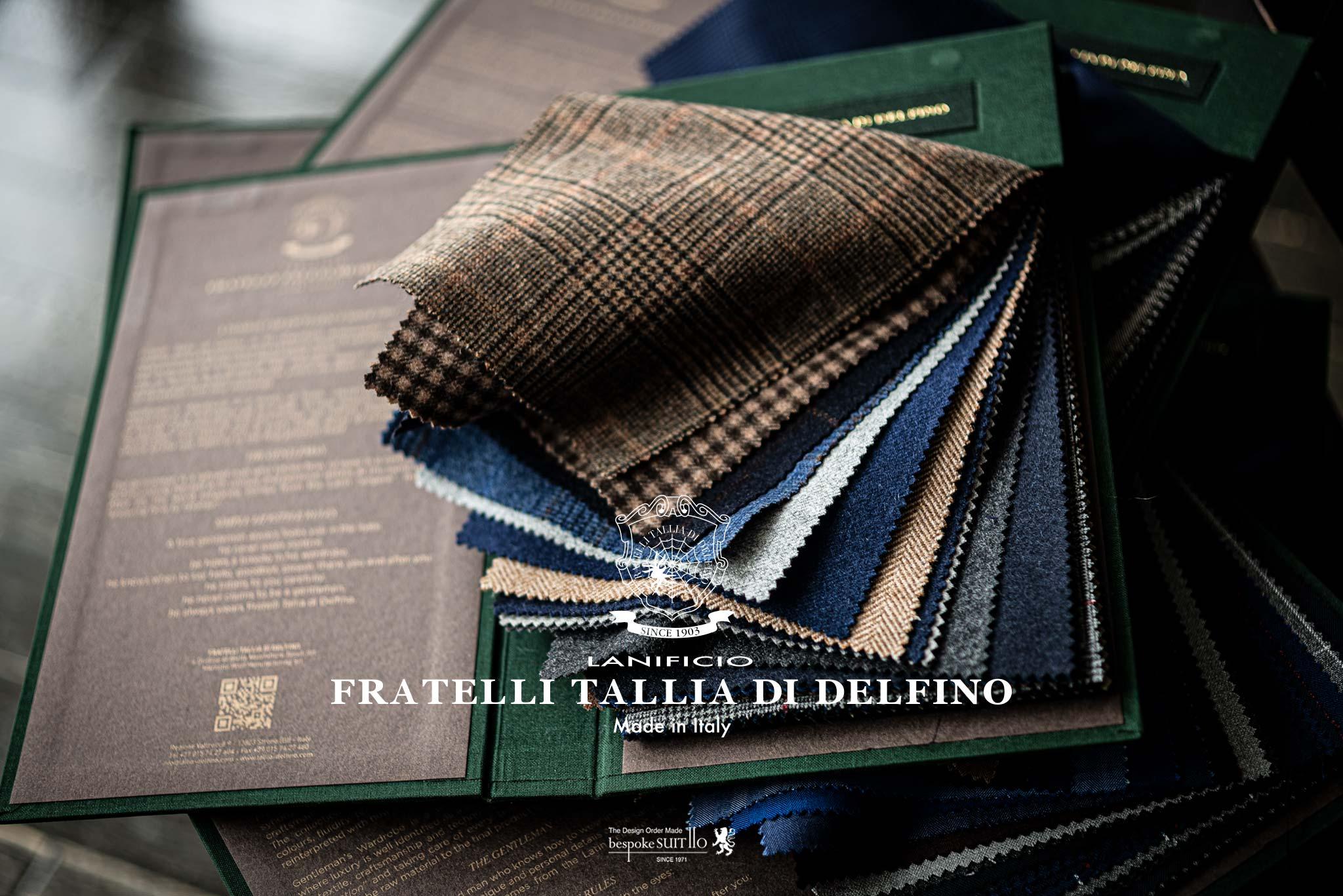 ★入荷しました!NEW!2019AW FRATELLI TALLIA DI DELFINO(タリア デルフィノ)