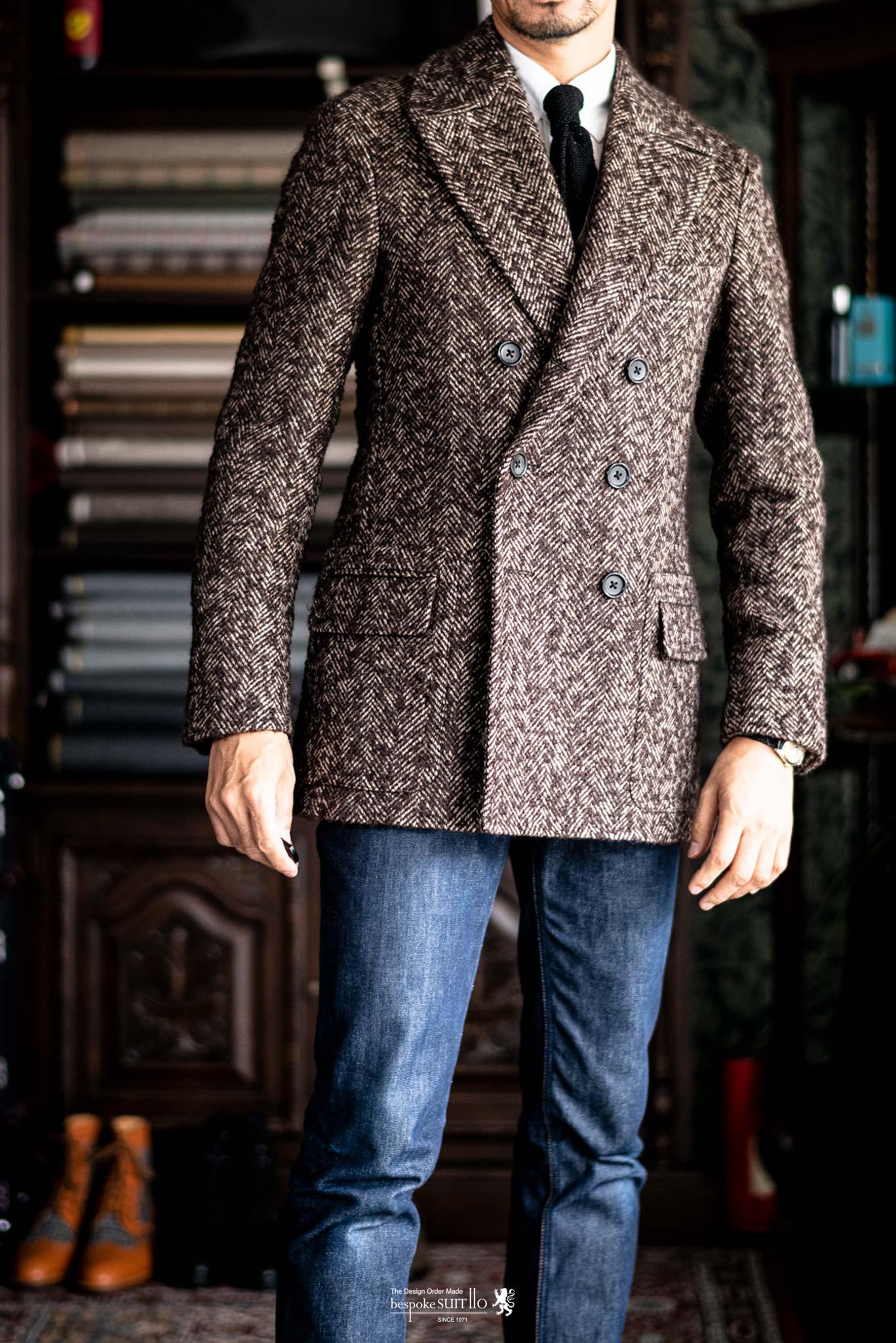 ★ジャケットのように羽織るコート Giaccone(ジャッコーネ)の受注を開始!
