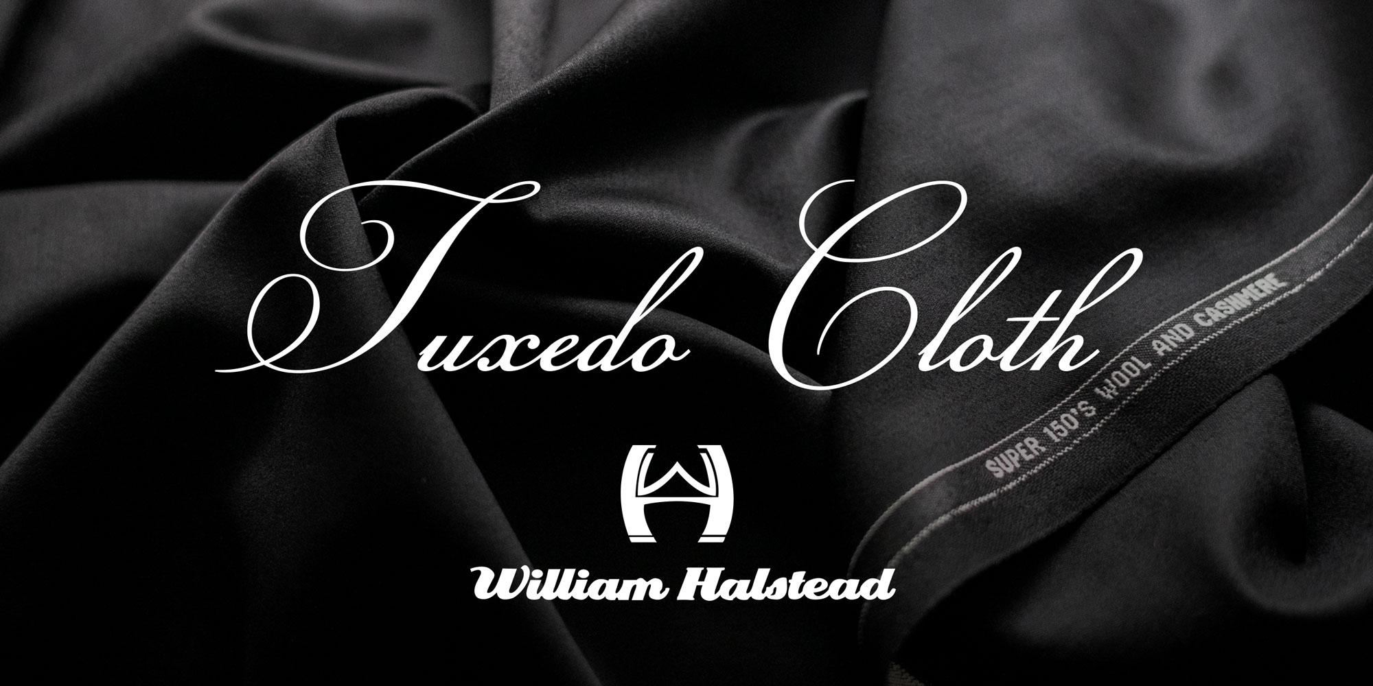 ★礼服 William Halstead  SUPER150's タキシードクロスがスペシャルプライス