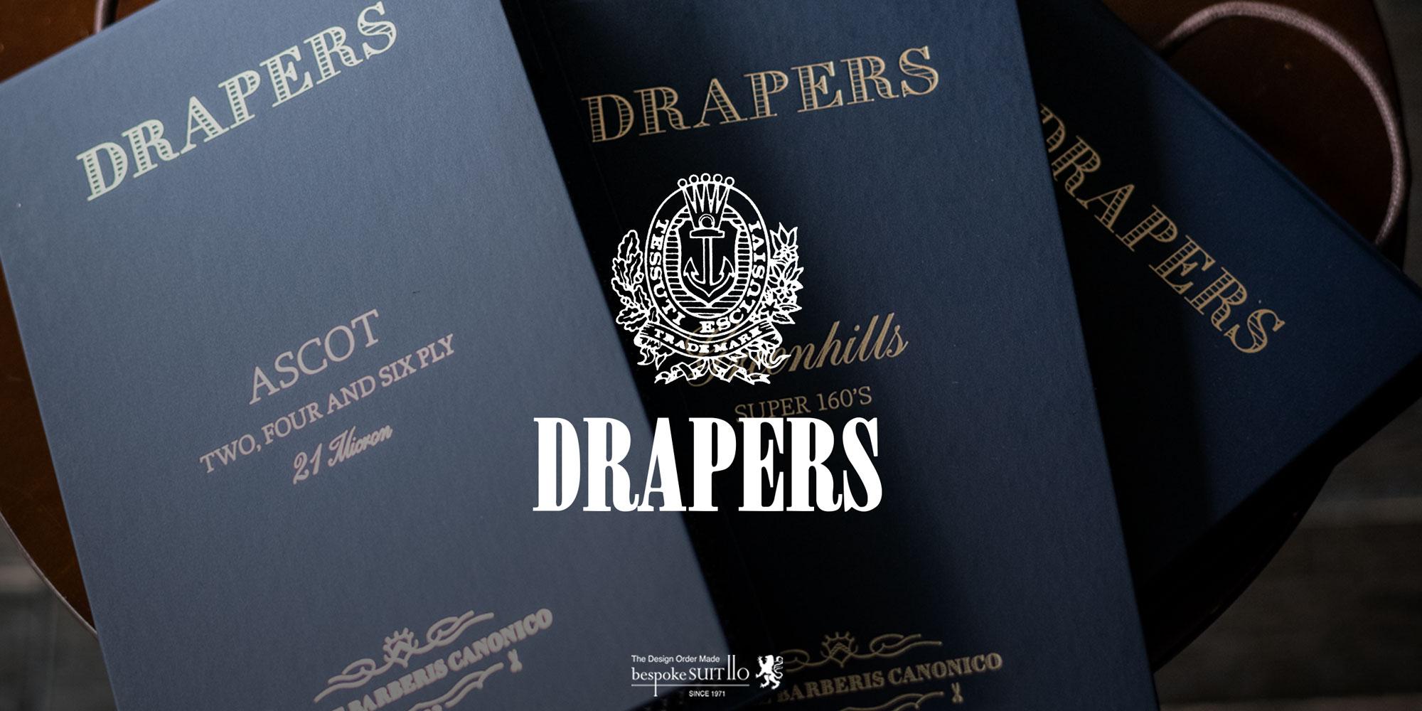 ★新柄入荷!2021SS DRAPERS(ドラッパーズ)/ ASCOT(アスコット)・MOHAIR(モヘア)・THREE KINGS(スリーキングス)