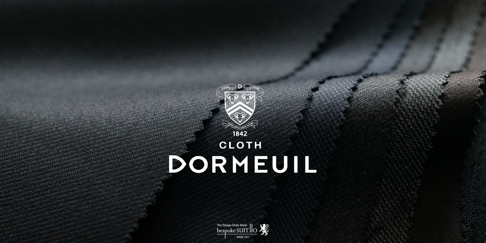 DORMEUIL(ドーメル)Super160's 8PLY・TONIK(トニック)他 MASTERPIECE(マスターピース)