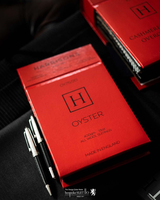 ★2020-21AW入荷!OYSTER オイスター / HARRISONS OF EDINBURGH