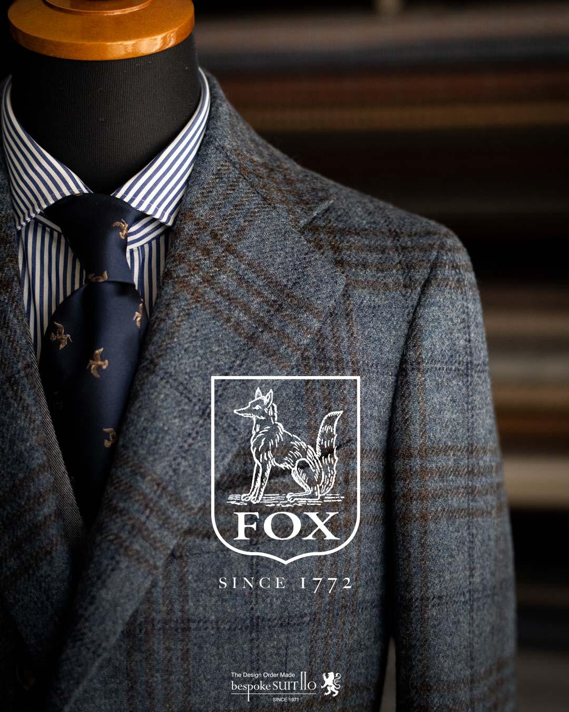 ★2020-21AW FOX TWEED(フォックスツイード)/ FOX BROTHERS(フォックスブラザーズ)福岡県 福岡市 N様