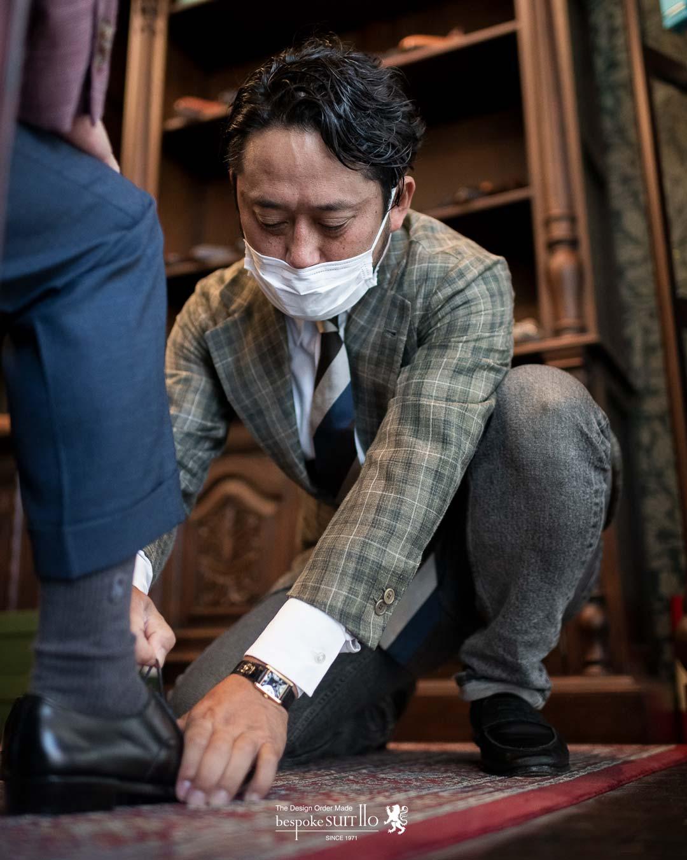 """★たくさんのご来店ありがとうございました。 トランクショー SPIGOLA(スピーゴラ) 靴職人""""鈴木幸次氏""""を招いて受注会。"""